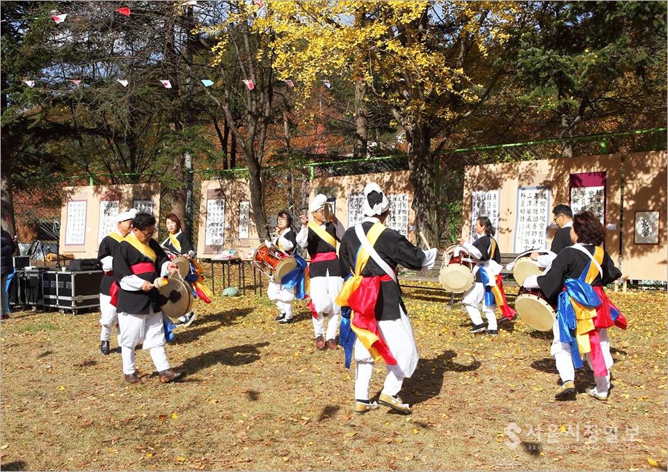 ▲ '양평군 서종면 서후리'라는 작은 산촌마을에서 문화 예술 축제가 열리고 있다.